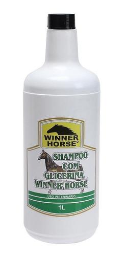 Imagem 1 de 1 de Shampoo Com Glicerina Winner Horse Para Cavalo 23640