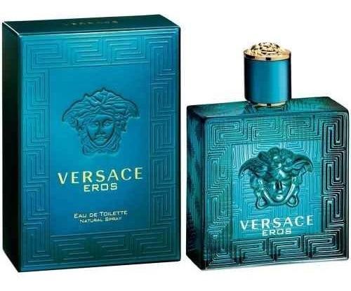 Perfume Eros De Versace 100ml Caballero