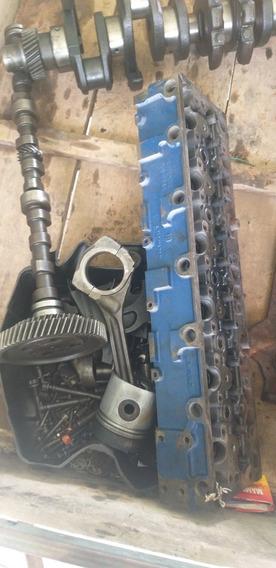 Peças Motor Mercedes 352a, Cabeçote, Bloco, Virabrequim