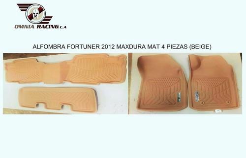 Alfombra Fortuner 2012 Maxdura Mat 4 Piezas (beige)