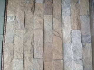 Piedra Laja Formateada Color Mostaza