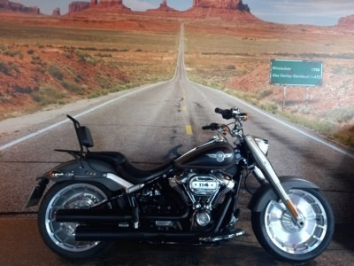Harley-davidson Softail Fat Boy 114