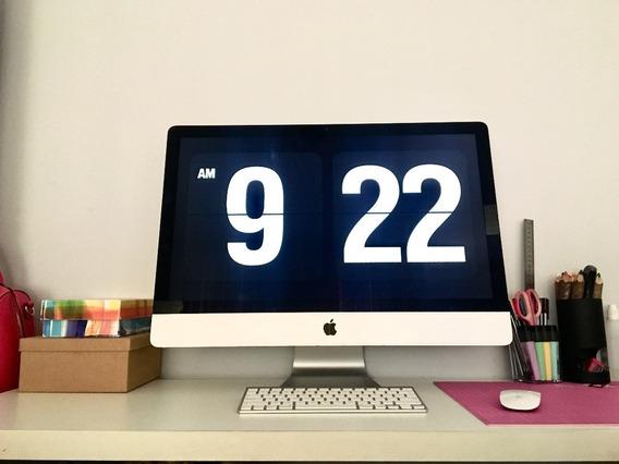 iMac 27 Polegadas Com Teclado E Mouse Originais 2013