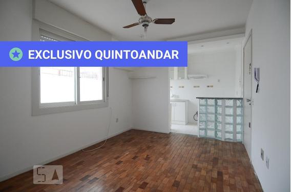 Apartamento No 2º Andar Com 1 Dormitório - Id: 892983268 - 283268
