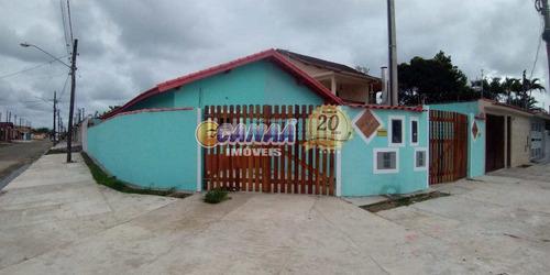 Casa Com 2 Dorms, Balneário Regina Maria, Mongaguá - R$ 201 Mil, Cod: 7839 - V7839
