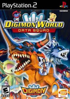Digimon World Data Squad - Playstation 2