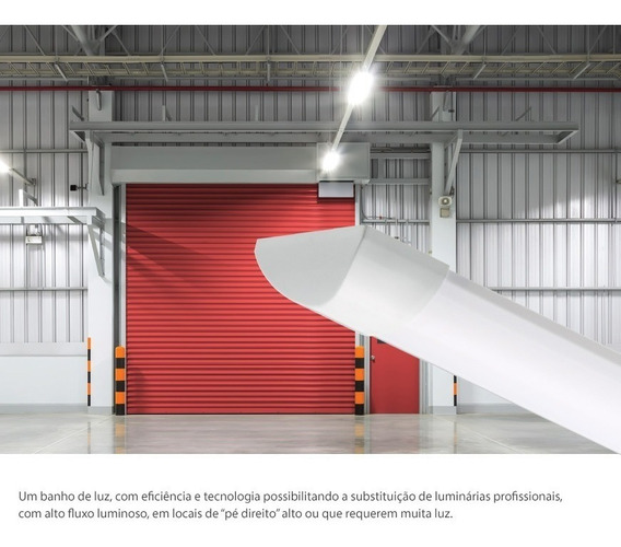 Caixa Com 2 Unidades - Luminária Linear Ksx Pro 45w 6000k