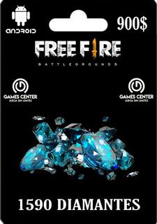 1060 Diamantes Free Fire ( +530 1er Recarga) Envio Ya.