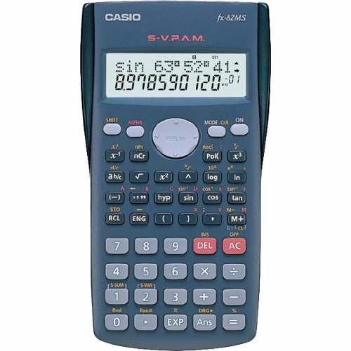 Calculadora Cientifica Casio 240 Funções Estudantes Fx-82ms