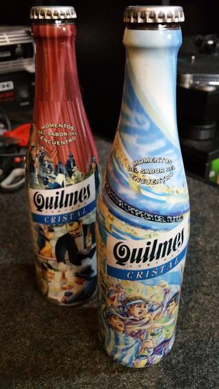2 Porrones Quilmes Coleccion Botellas Cerradas