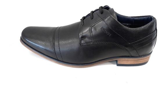 Zapato Hombre Casual Ferracini Derby Cuero Vacuno Cordon Elastico
