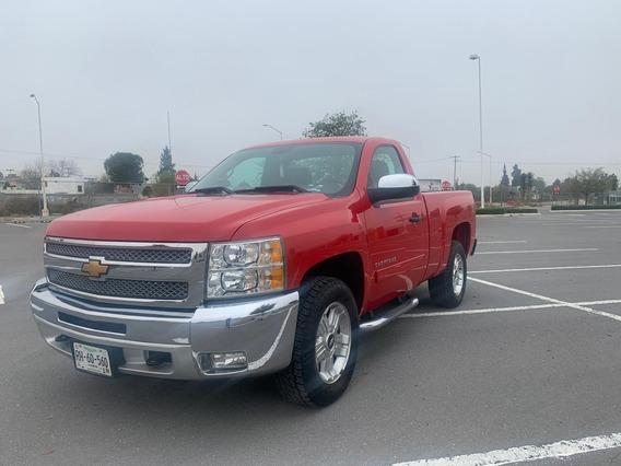Chevrolet Cheyenne Lt, Color Rojo 2 Puertas