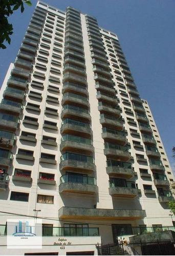 Imagem 1 de 30 de Apartamento Com 3 Dormitórios Para Alugar, 135 M² Por R$ 7.200,00/mês - Moema - São Paulo/sp - Ap3766
