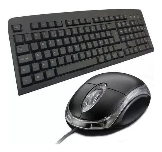 Kit Teclado E Mouse Com Fio Usb Ltomex Pronta Entrega