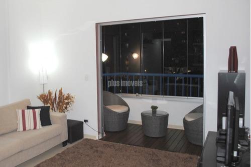 Apartamento Para Venda No Bairro Campo Belo Em São Paulo - Cod: Pj52972 - Pj52972
