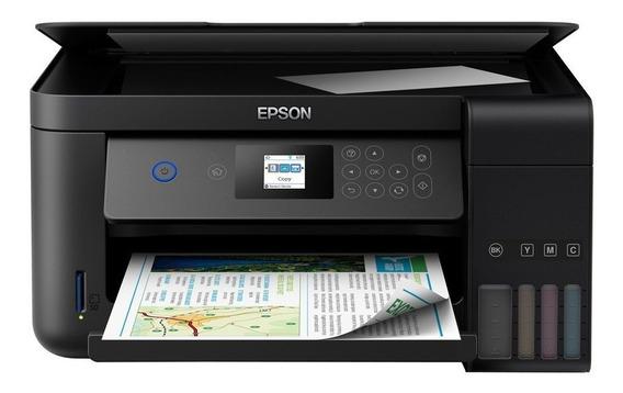 Impressora Multifuncional Epson Ecotank L4160 Frente E Verso