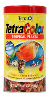Tetracolor Tropical Flakes Alimento Hojuela Peces 200grs