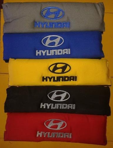 Bandanas Protector Cinturon Hyundai Par +colores