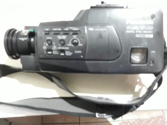 Filmadora Panasonic M33 Vhs-c - Com Detalhes -leia O Anúncio