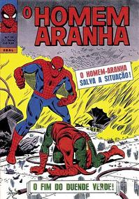O Homem Aranha - Ebal - Número 24 - 1a Série - Edição Rara