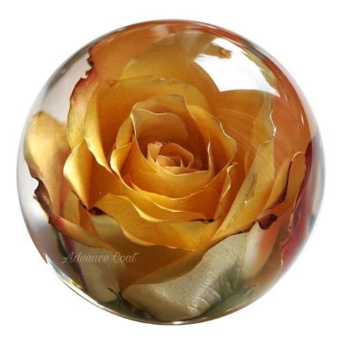 Resina Epoxi La Mejor Cristal Vidrio Líquido X 750 Gramos