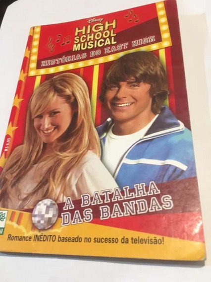 Livro High School Musical Histórias Do East High+ Ashley Kit
