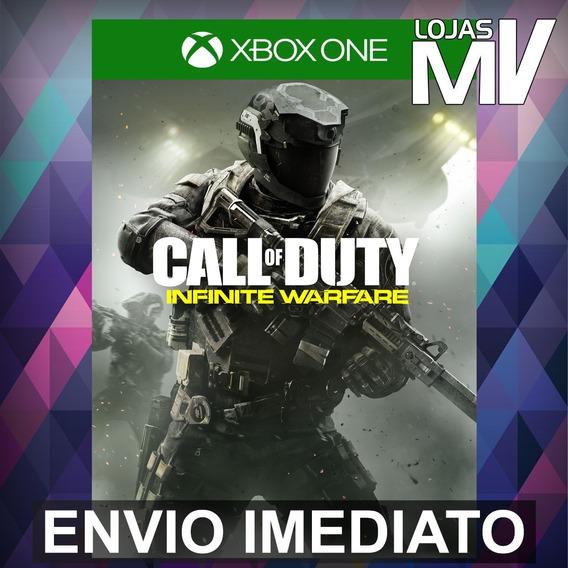 Call Of Duty Infinite Warfare Xbox One Código 25 Dígitos