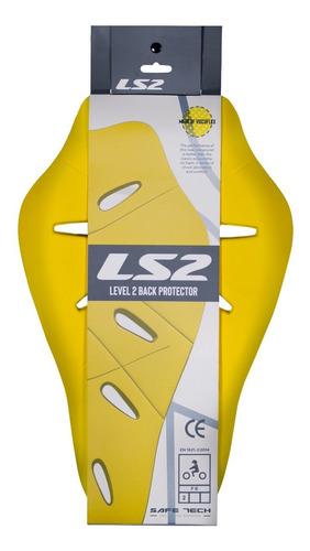 Imagem 1 de 8 de Protetor Coluna Costas Inserir Ls2 Para Jaqueta Macacão Moto