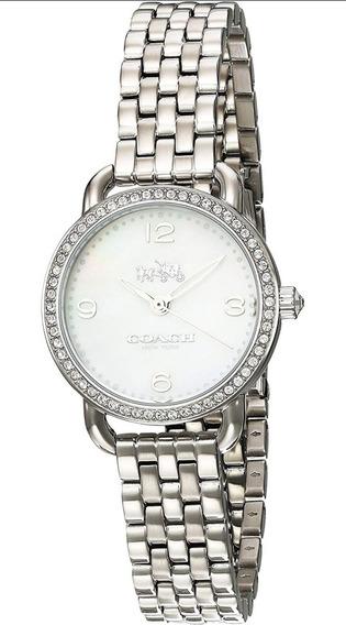 Reloj Coach Delancey Para Mujer, Pulsera De Acero Inoxidable