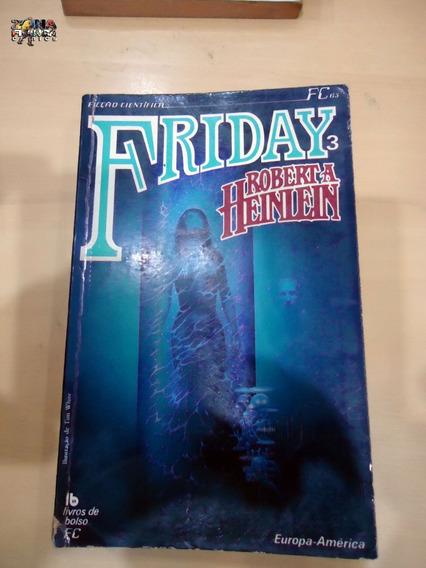 Friday 3 Robert A. Heinlein Livro Ficção Científica Ótimo