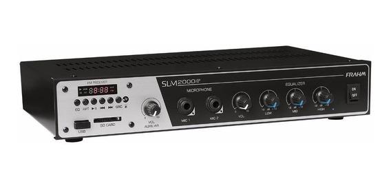 Amplificador Slim 2000 Lf - Frahm