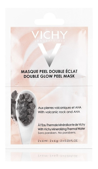 Máscara Mineral Vichy Efeito Peeling 6ml 2 Sachês