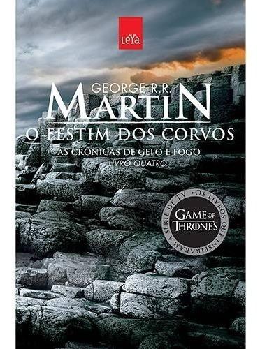 Livro - O Festim Dos Corvos Game Of Thrones (ed. Econômica)