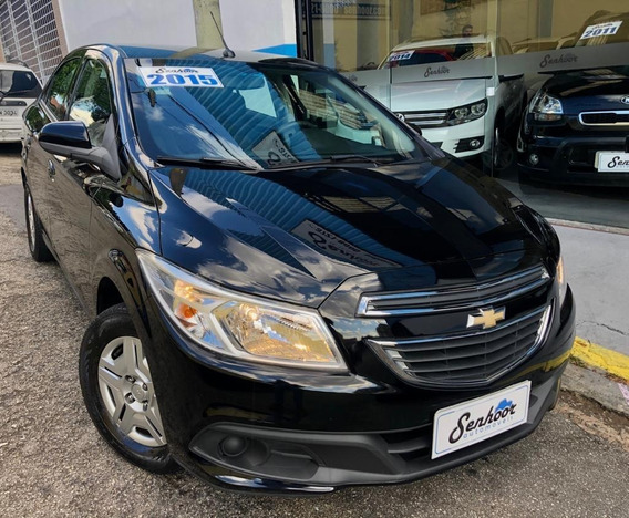 Chevrolet Prisma Lt 1.0 Flex Completo Preto - 2015