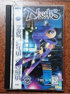 Sega Saturn Nights Americano