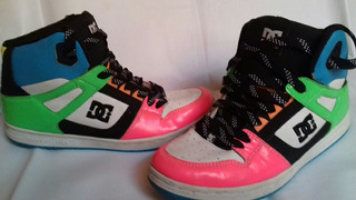 Dc Shoes Tenis Hi Top Mujer 11 Us 7.5 Mx Urban Style