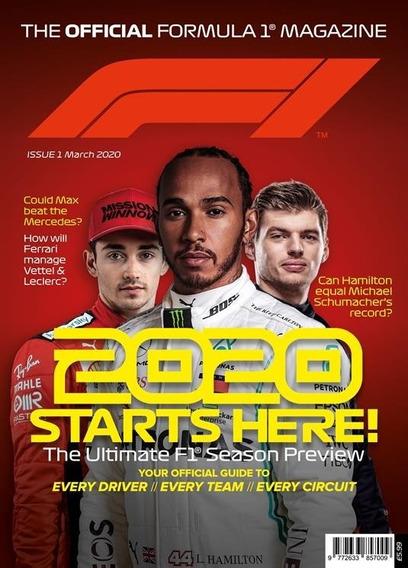 The Official Formula 1 Magazine Uk - Revista Mensal Gps