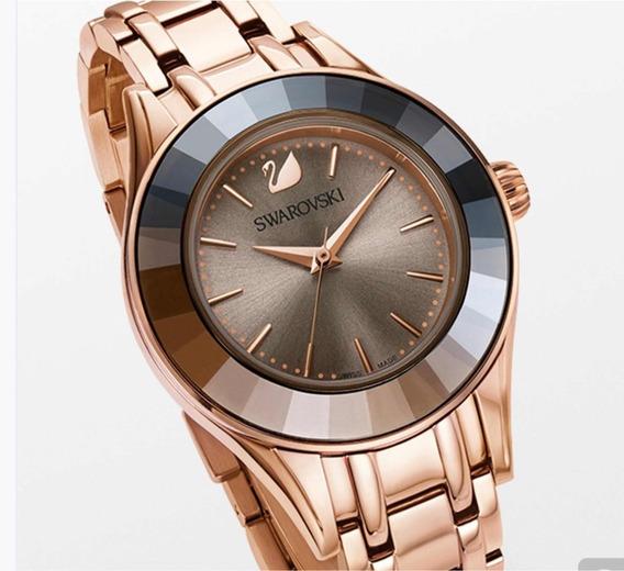 Reloj Swarovski Mod Alegría En Rose Gold Original