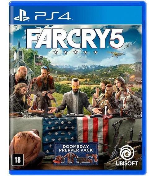 Jogo Far Cry 5 Seminovo Ps4