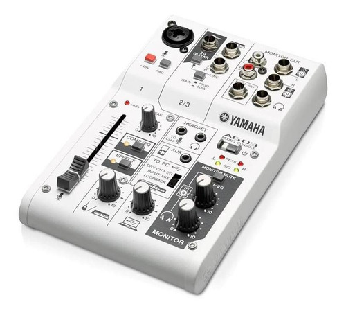 Mesa De Som Interface De Áudio Yamaha Ag03