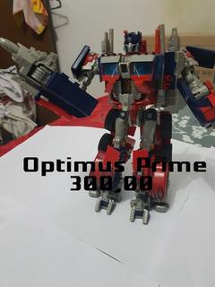 Transformers Optimus Prime Filme 1 Luz E Sons
