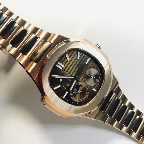 Reloj Patek Philippe Automático Oro Rosa Pp84000
