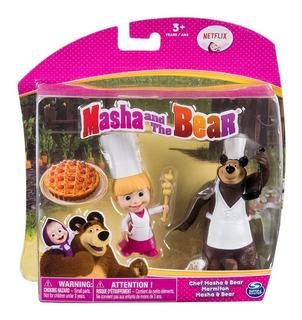 Masha Y El Oso Figuras X2 Surt.n Spin Master Toys - 6039080