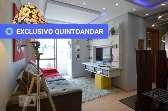 Apartamento No 6º Andar Mobiliado Com 2 Dormitórios E 1 Garagem - Id: 892979762 - 279762