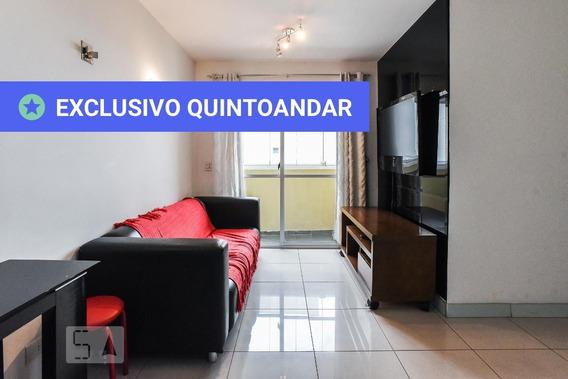 Apartamento No 16º Andar Mobiliado Com 2 Dormitórios E 2 Garagens - Id: 892958097 - 258097