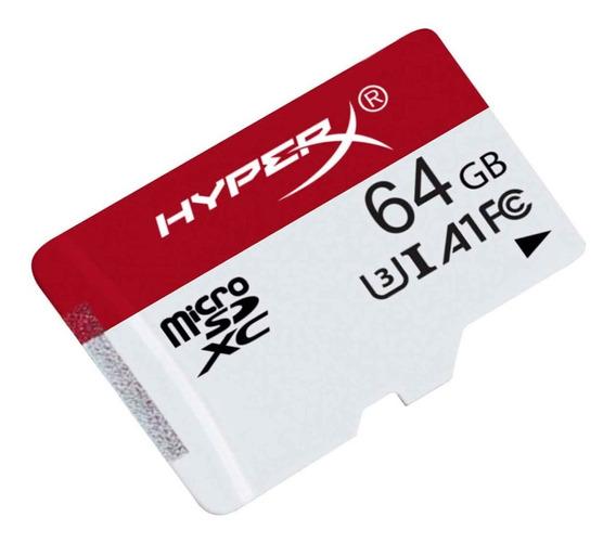 Memoria Micro Sdxc 64gb Kingston Hyperx Nintendo Switch