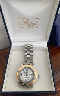 Reloj Tag Heuer Mujer Original Acero Oro Sumerg Funcionando
