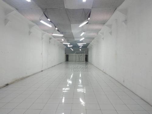 Salão Para Alugar, 280 M² Por R$ 6.500,00/mês - Parque Das Nações - Santo André/sp - Sl0953