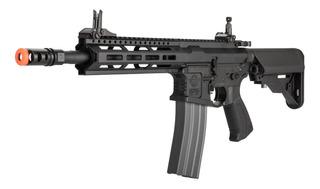 Fuzil Rifle Airsoft Aeg Semi-automático E Full G&g 370 Fps