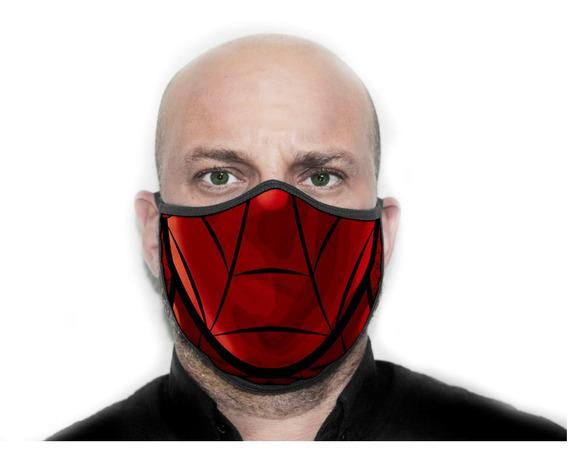Máscara Personalizada Homem Aranha - Ref ( 12 )